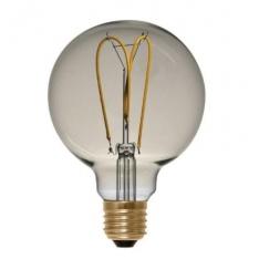 LED Globe 125 curved golden